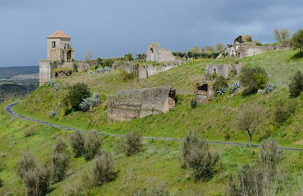 Castle at Montemor-o-Novo, Alentejo