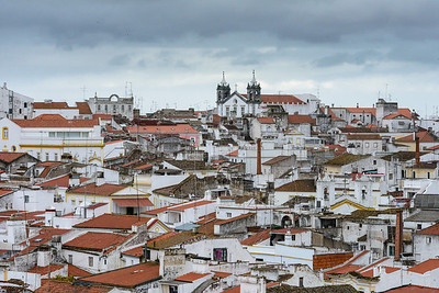 Overlooking Elvas