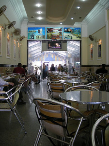 Train Station cafe, Alexandria Egypt