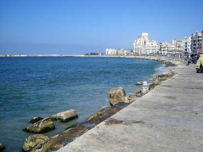 corniche in Alexandria - April 2008