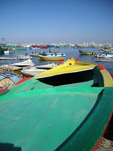 boats, Alexandria, Egypt