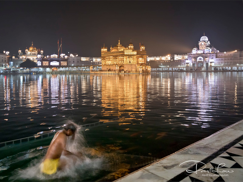 Pilgrims come from across the world to bathe in its sacred waters.