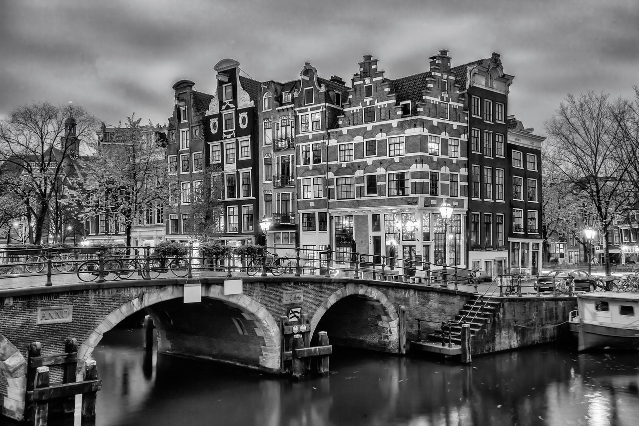 Venice of the North - BW