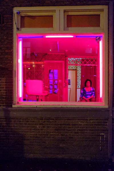 Amsterdam redlight district
