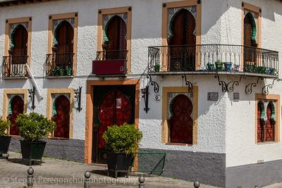 Moorish decor in Granada houses
