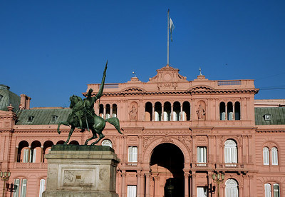 La Casa Rosada - Buenos Aires