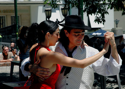 Street Tango - San Telmo - Buenos Aires