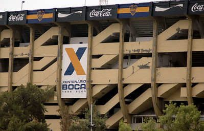 Boca Jr's Stadium - La Boca - Buenos Aires