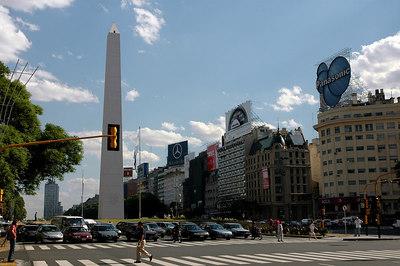9 de Julio Blvd - Buenos Aires