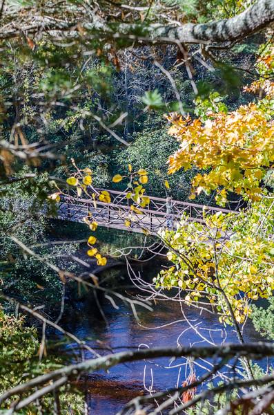 Copper Falls State Park Foot Bridge