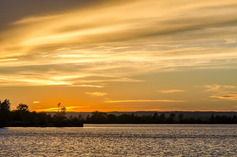 Ashland Wisconsin Sunset