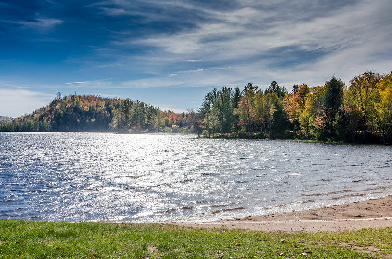 Fall Colors at Copper Falls State Park Loon Lake