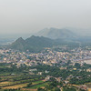 View over Pushkar from Savitri Temple