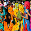 Women in Saris, Krishna Festival