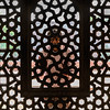 man behind the window, Humayun's Tomb