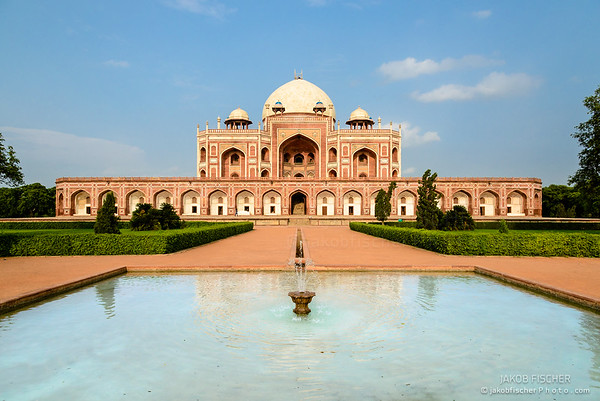 Mogul King Humayun's Tomb in New Delhi, India