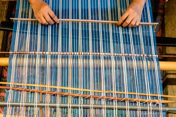 Weaver around Tetebatu