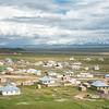 view over Sary-Tash, Kyrgyzstan