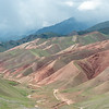 kyrgyz mountains around Uch-Tyube