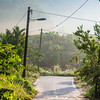 Rural road in Pangkor, Malaysia