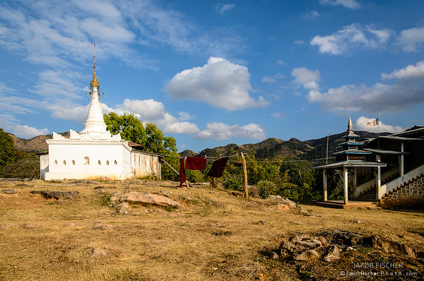Temple around Inle Lake