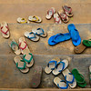 Burmese slipper in a kindergarten