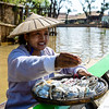 Floating market at Inle Lake
