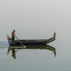 Fishermen at Taung Tha Man Lake, Amarapura