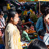 Burmese fruit market on the streets, Yangon