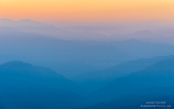 Himalaya at sunrise