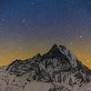 Starry sky, Annapurna