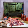 burmese butcher selling fresh meet