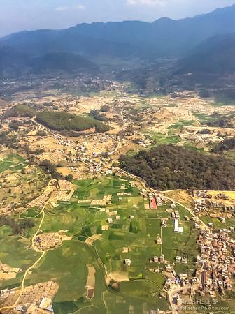 Approach to Kathmandu Valley