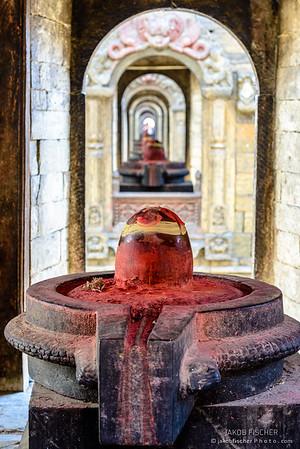 Cremation ghats in Pashupatinath, Kathmandu valley