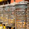 Tibetian prayer mill