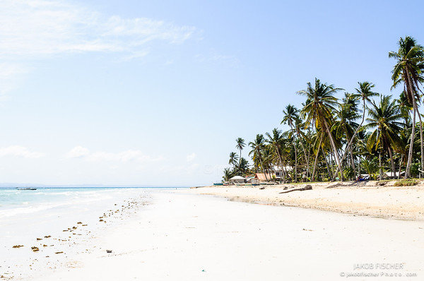 Beachfront on Bantayan Island