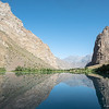 Jizev lake in the Pamir region