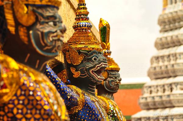Mythological figure of the indian epic ramayana,