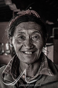 A cook at Rongbuk Monastery, Tibet.