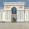 turkmen presidential portrait