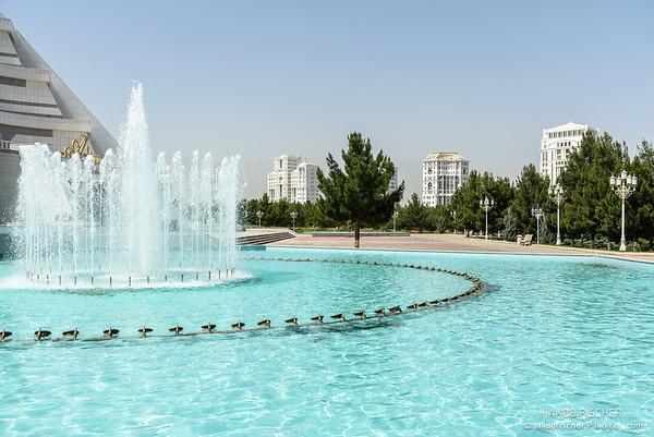 building in Ashgabat