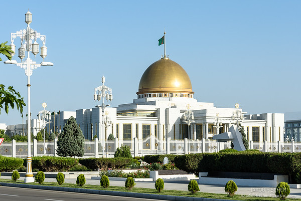 presidential palace in Ashgabat