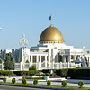 presidential palace in Ashgabat