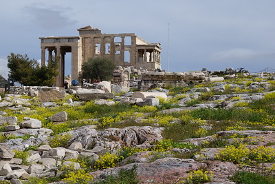 Erechtheion at the Acropolis