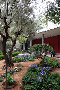 cafe garden in the Archeological museum