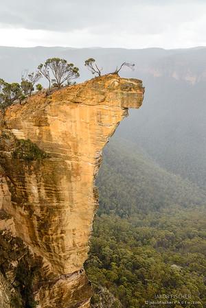 View at Hanging Rock
