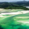 Scenic flight over Whitehaven Beach, Whitsunday Islands