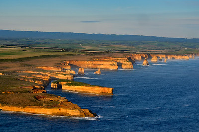 Helicopter View of The Twelve Apostles