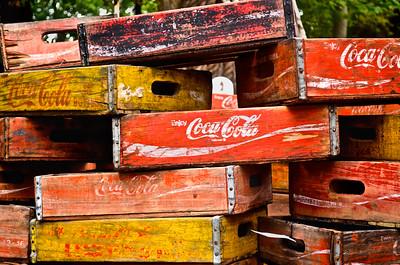 Vintage Coca-Cola Boxes