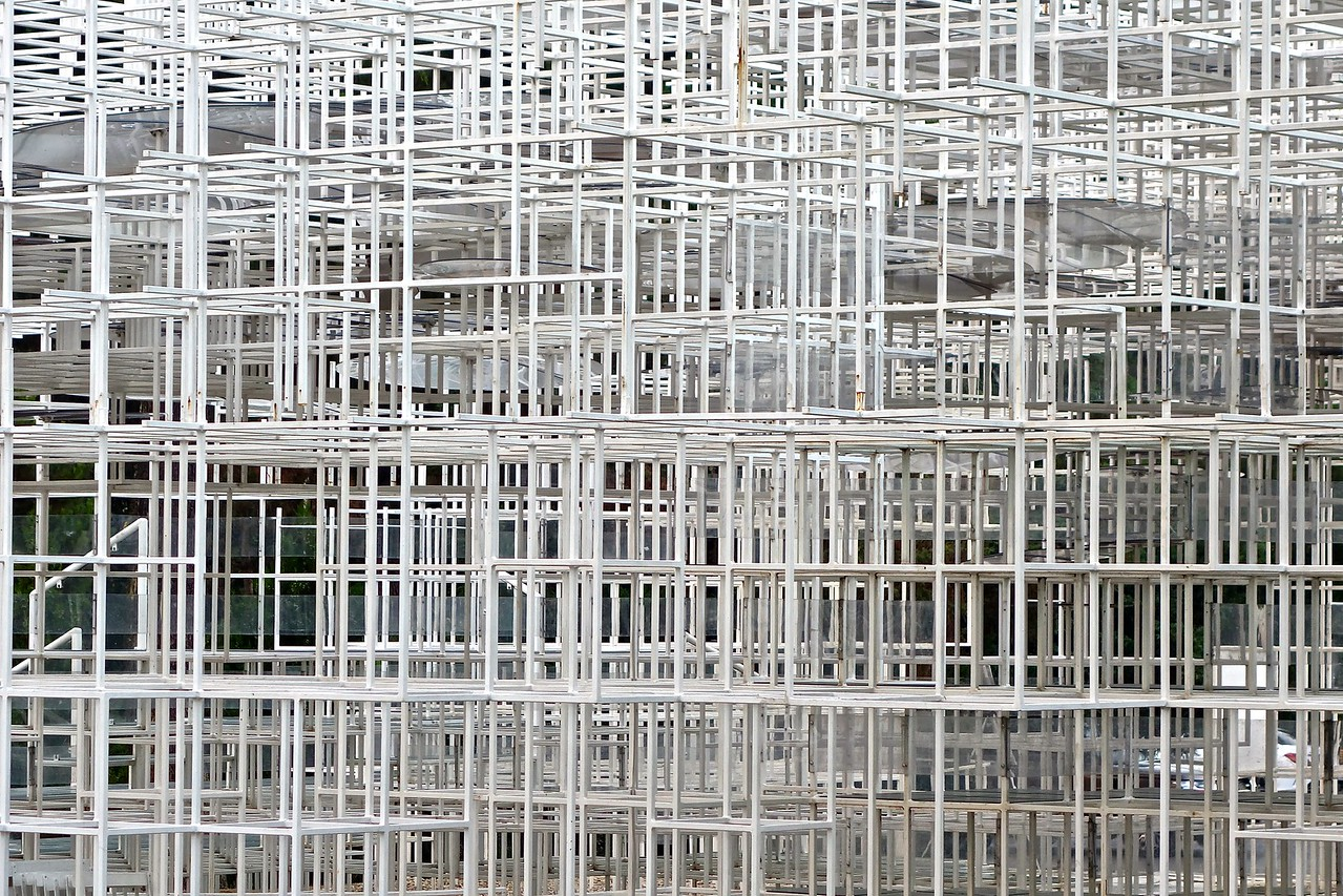 detail, Cloud gathering space, Tirana, Albania
